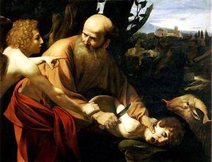 778px-Sacrifice_of_Isaac-Caravaggio_(Uffizi)